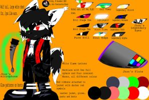 Real Jhon Reference Sheet by Thealmosthalfdead