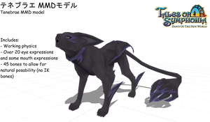 .:MMD:.  Tenebrae model (ALMOST FINISHED) by Miku-Nyan02