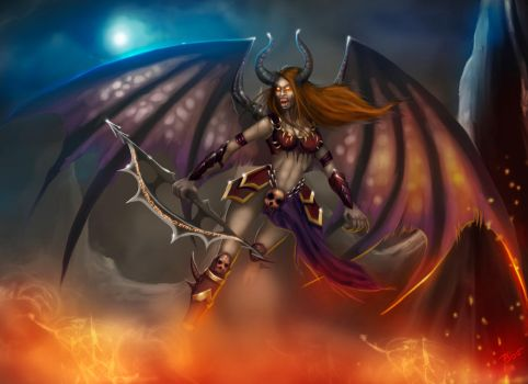 Felmere the sexy female Daemon you don't want to m by ebizcraftsman