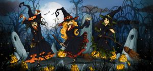 The three witches by clv