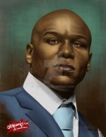The Money - Floyd Mayweather Jr. by debuhista