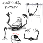 Thumbless Twiggy by ChesterPalm