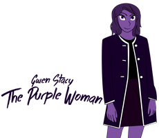 Gwen Stacy, The Purple Woman by Jarvisrama99
