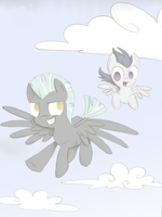 Thunderlane and Rumble by PrincessNoob