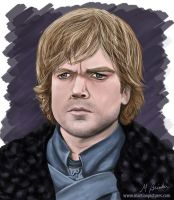 Tyrion Lannister by martianpictures