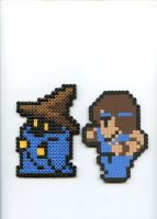 Final Fantasy 1 jobs 3 by Frost-Claw-Studios