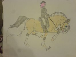 Over Excited Fjord Dressage Stallion by StarCrossedPsycho