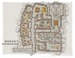 Wards Academy - Meeda's Dungeon by SirInkman