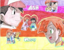 Ash and Misty by CardcaptorKatara