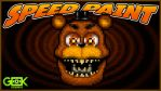 Adventure Nightmare Freddy -SPEEDPAINT- FNAF World by GEEKsomniac