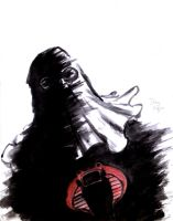 Cobra Commander paint and brush by DougSQ