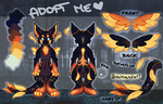 [CLOSED] ANGEL DRAGON AUCTION: Twilight Forest by Octochels-Adopts