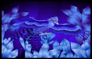 Ice Phoenix Flash by Crystal-Ice47