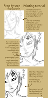 Gaara Painting Tutorial by pizzaplanet