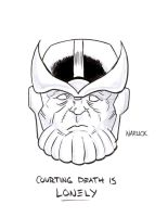 Thanos by Matthew Warlick by IamSpeck