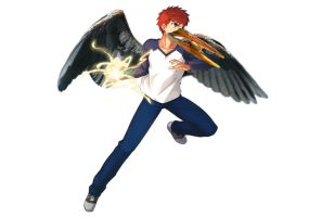 [photo mont] Shirou the heron of justice by hylidia