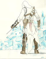 Altair Watercolor by Jexyss
