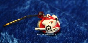 Character Cupcake: Amaterasu from Okami by LoekazCharms