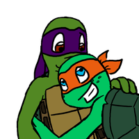 Donnie and Mikey by MetaLatias5