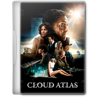 Cloud Atlas (2012) Movie DVD Icon by A-Jaded-Smithy