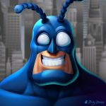 The Tick - The City Calls by RockyDavies