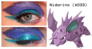 Pokemakeup 033 Nidorino by nazzara