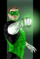 Green Lantern by Plugin848y