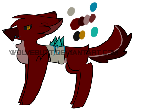 POINT Adopt pt 2 - Crystals OPEN by WolveFalcoAdoptables
