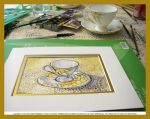 Tea Cup Watercolor Demo by HouseofChabrier