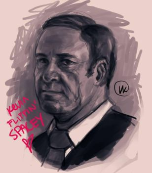 Kevin Spacey by TokenJin