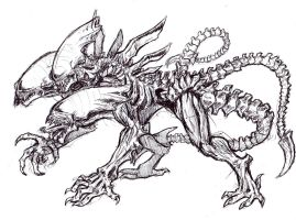 Alien Cerberus by arvalis