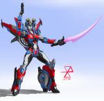 Windblade/Chromia Fusion (two-tone version) by synth-brave