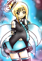 Lola art trade for Gihlince64!!! vocaloid version by Cheyannetowne