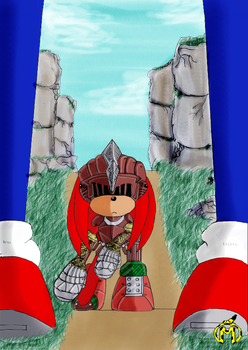 Sonic_Knuckles_Knights by MagnusMarsupilami