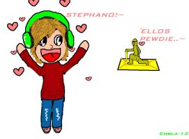 Pewdiepie and Stephano by Albme94