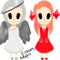 Angel And Demon Custom Adopts by Cuteness-Adopts