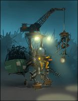 Junk Collector by Miggs69