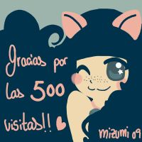 Thanks for the 500 Pageviews by mizumitodepapu