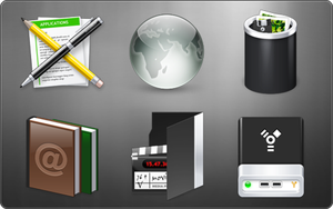 NX08 For IconPackager by ipholio