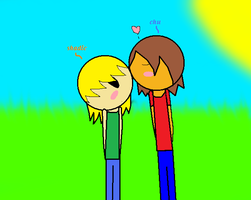 Shadic X Nick Adventure Time by caitlinthehedgehog34
