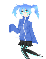 [Kagerou Project] Ene by DarkShadowsInMyHeart
