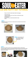 Tutorial: Liz and Patty's Hat by CrimeWaved