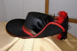 Red Musketeer Hat 1 by MistressKristin