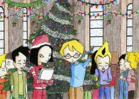 Code Lyoko Christmas Party by codelyokorocks