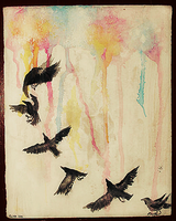 Flight of Crows by kiusa