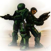Two Spartans by jameson9101322
