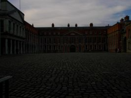 Dublin Castle Courtyard by Alexandriaweb