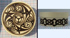 another Small Knotwork box by laurapalmerwashere