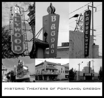 Historic Theaters of Portland by urbanshooter