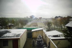 FIRST SNOW!!! by Pauline-graphics